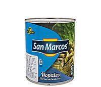 Кактус Наполинатус маринований різаний San Marcos 800 г