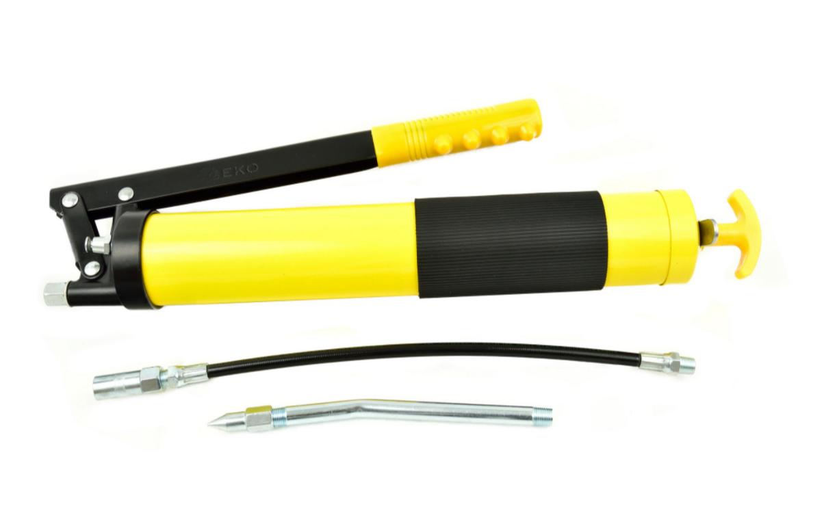 Шприц для масла (жовтий) Profi 600 мл GEKO G01147