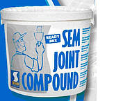 Готовая сверхтонкая шпаклевка SEM-JOINT COMPОUND, 7кг(Франция)