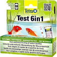 Tetra Pond Test 6in1 набор полосок - тестов для проверки качества воды в пруду 25шт