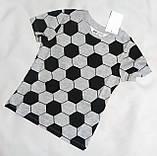 Дитяча футболка для хлопчика H&M на зріст 98-104 см (2-4 роки), фото 3