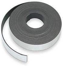 Магнитная виниловая лента с клеящим слоем,  25 х 1,5 мм,  20 см