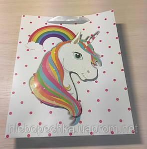 Подарочный пакет Единорог