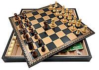 """Подарочный набор Italfama """"Palissandro Dorato"""" (шахматы, шашки, нарды)"""