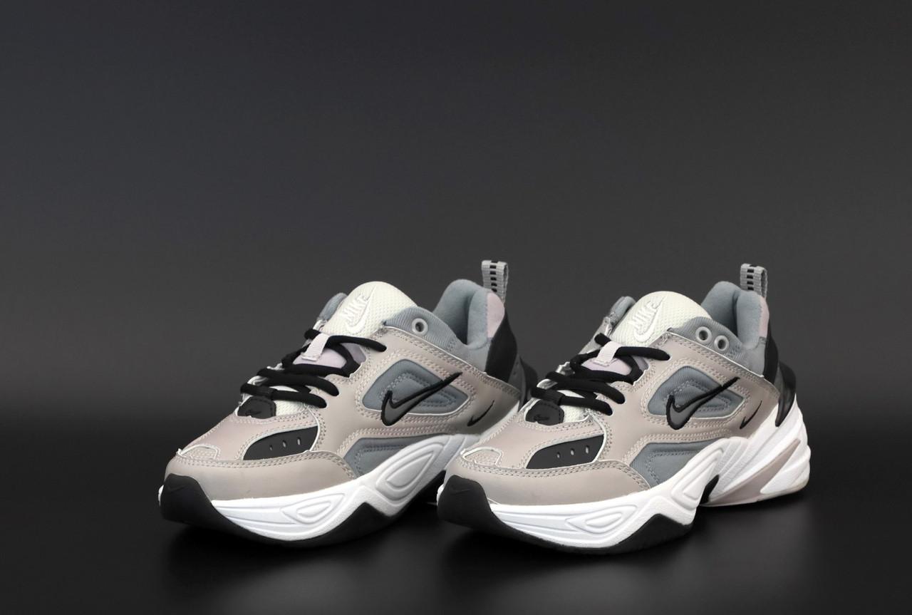 Женские серые Кроссовки Nike M2K Tekno