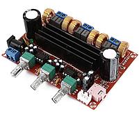 Аудіо підсилювач TPA3116D2 2.1 2х50Вт + 100Вт 12-24В 4А стерео+сабвуфер