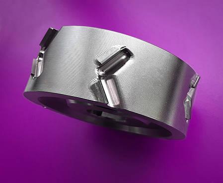 125x43x30, z=3+3 Фугувальна алмазна фреза для обробки крайки LEUCO DIAMAX DP LowNoise (Homag), фото 2