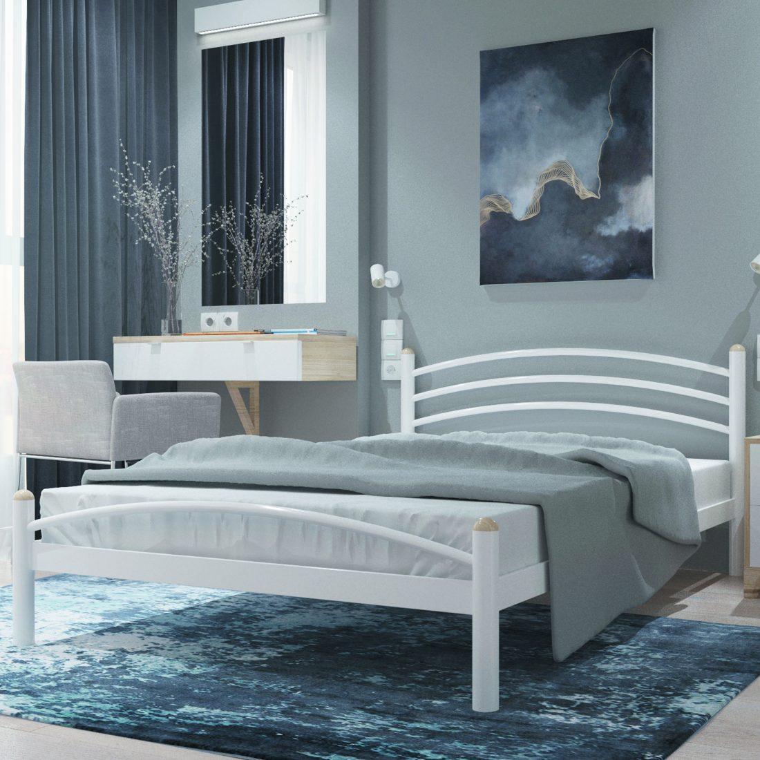 Металева ліжко Маргарита