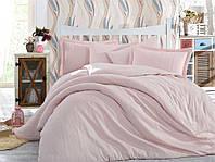Постільна білизна сімейна Hobby жакард 2х160х220 рожева IZ00397