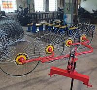 Ворошилки 4 колеса 6 мм (минитрактор 3Т)