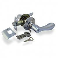 Ручка-защелка NS 3812 ET-SN с ключами сатин