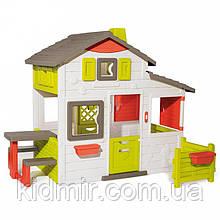 Садовий будиночок для друзів c огорожею Smoby 810203