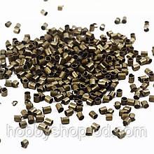 Стопперы 2*2 мм бронза ( вес 5 г)