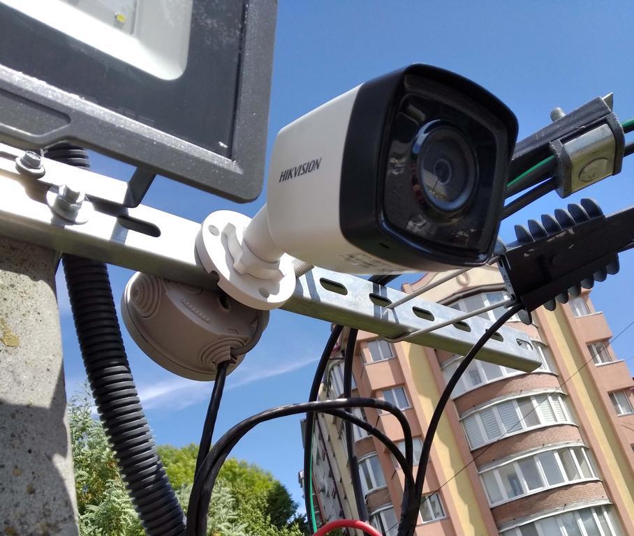 Встановлення ( монтаж) відеоспостереження Hikvision місто Львів