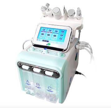 Косметологический комбайн водородного пилинга 6 в 1 с многополярным RF лифтингом