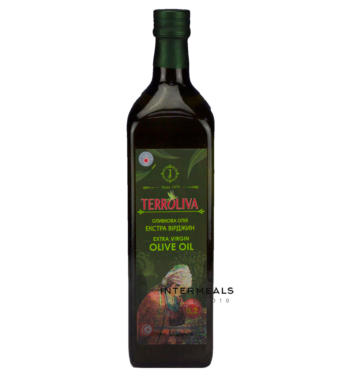 Масло оливковое Extra Virgin Terroliva 1 л ( Тунис)