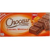 Шоколад молочный с карамелью и солью Chateau Karamel Zeezout 200 г Германия