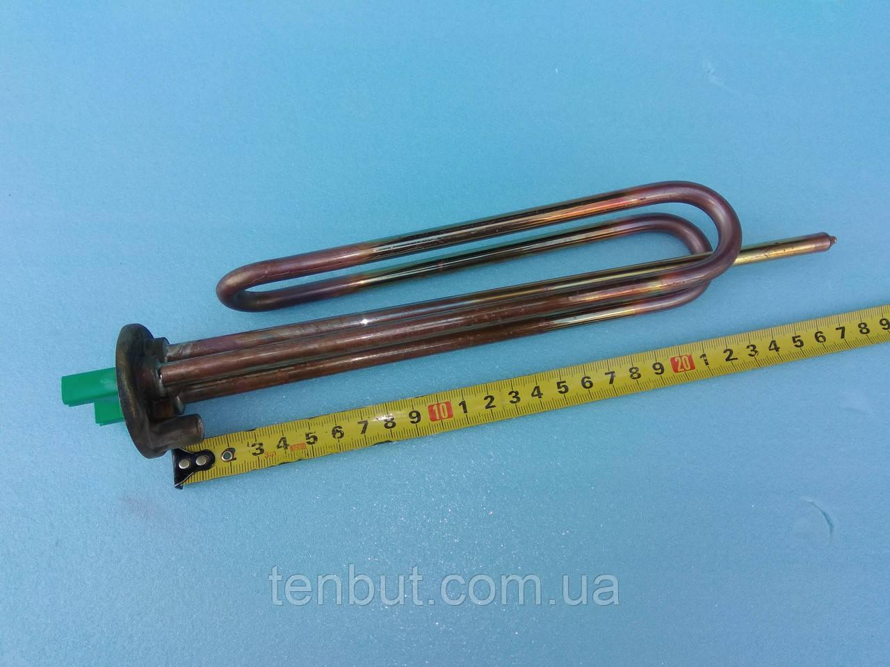 Тэн медный фланцевый 2.0 кВт. / 230 В. для бойлеров . Производитель Италия Thermowatt.