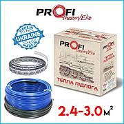 Тепла підлога 2.4-3.0м² (400Вт)  ProfiTherm Eko-2  (24 м/п) електрична
