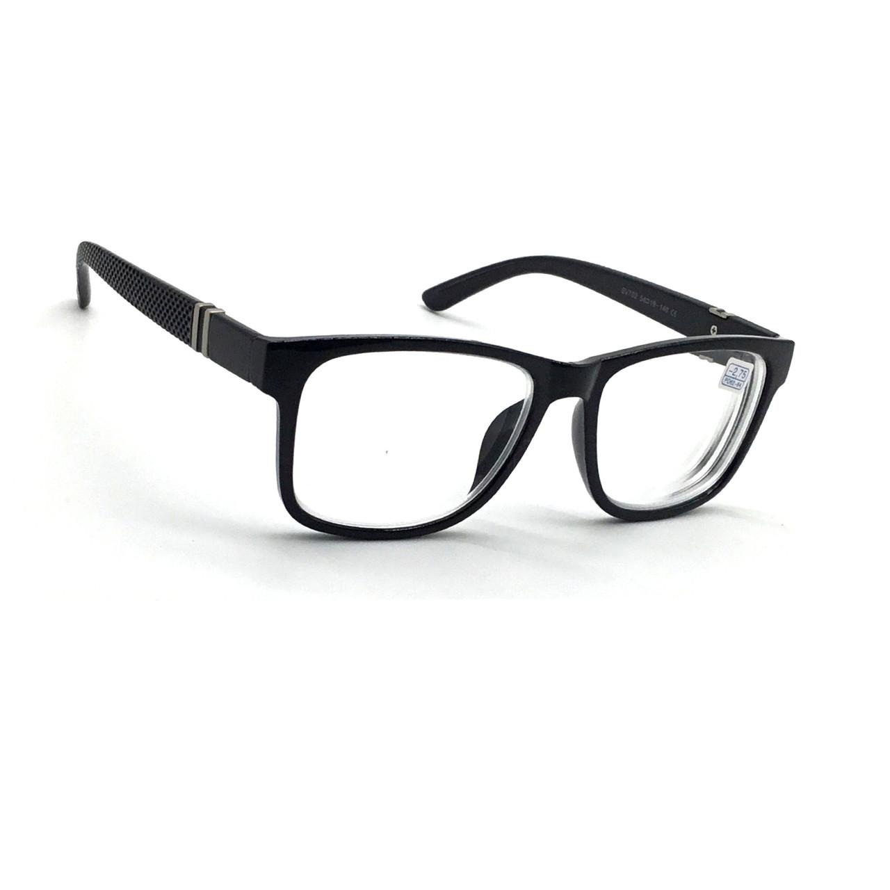 Окуляри для зору з білої лінзою 702