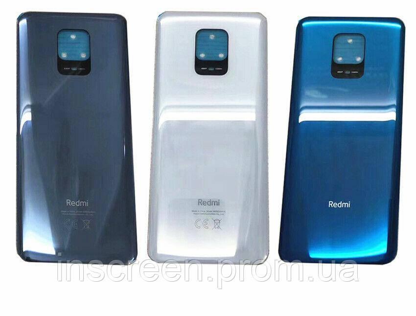 Задня кришка Xiaomi Redmi Note 9 Pro, Redmi Note 9S, біла, фото 2