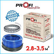 Тепла підлога 2.8-3.5м² (460Вт)  ProfiTherm Eko-2  (28 м/п) електрична