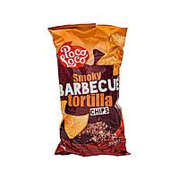 Чипсы тортилья барбекю Smoky Barbecue Poco Loco 200 г