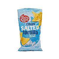 Чипсы тортилья солёные Crispy Salted Poco Loco 200 г