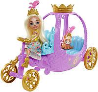 Enchantimals Royal Carriage Peola Pony Кукла Энчатималс Пенелопа Пони набор королевская карета Енчантімалс