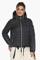 Практичная куртка Braggart мженская осенне-весенняя черная модель 62574