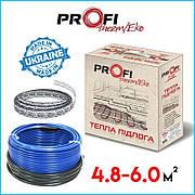 Тепла підлога 4.8-6.0м² (800Вт)  ProfiTherm Eko-2  (48 м/п) електрична