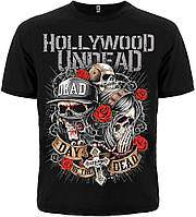 """Футболка Hollywood Undead """"Day Of The Dead"""" (SKULLS)  MK2"""