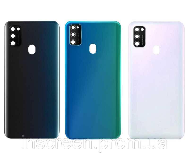 Задняя крышка Samsung M307 Galaxy M30s черная, Оригинал Китай, фото 2