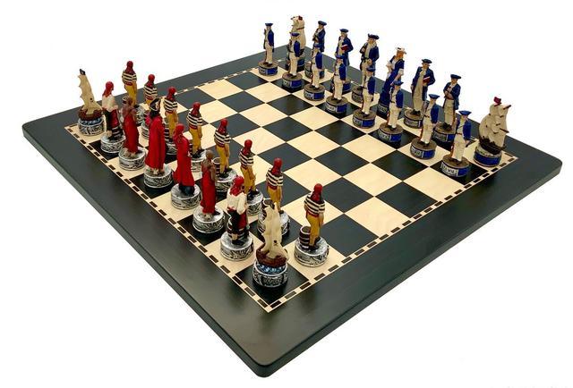 """Коллекция фигур """"Pirates"""" (Пираты). Итальянские шахматы Italfama"""