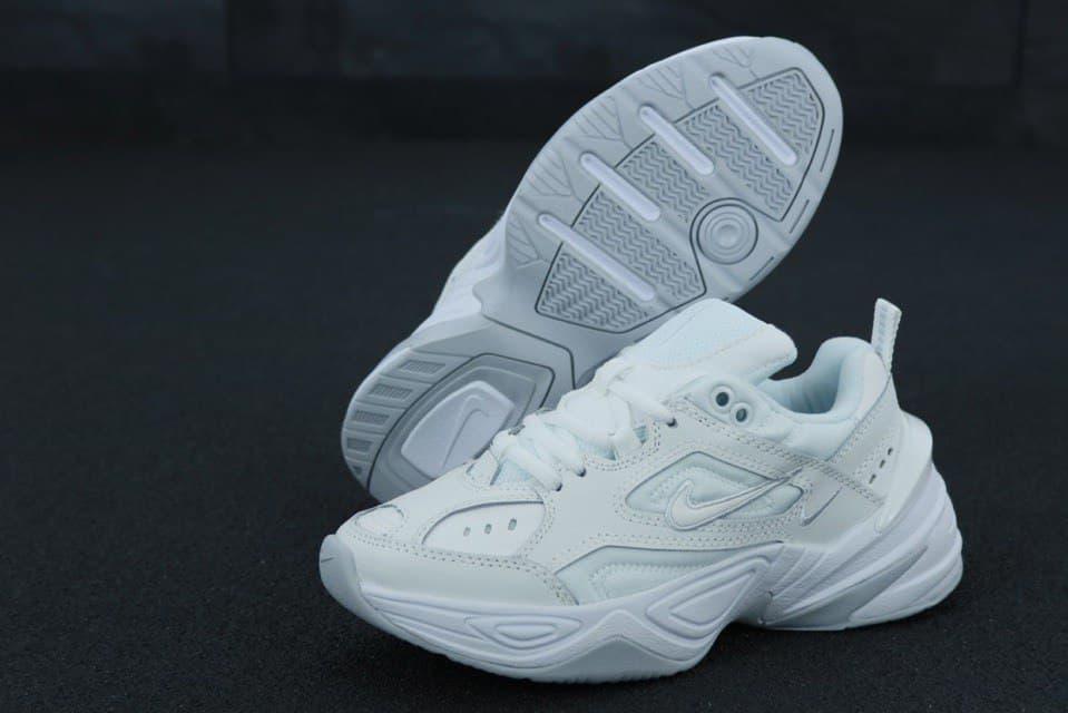 Жіночі демісезонні кросівки Nike M2K (білі) легка весняна взуття К11846