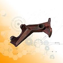 Кронштейн тормозной камеры КрАЗ правый 214-3502124-Б