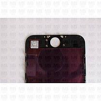 """Дисплей iPhone 6 (4.7"""") Black, оригінал з рамкою (відновлене скло), фото 3"""