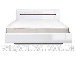 Белая кровать LOZ/180 Ацтека