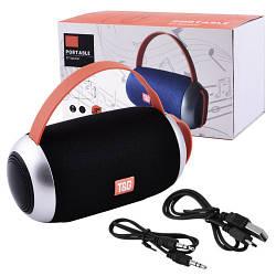 Портативная Bluetooth колонка SPS UBL TG112, c функцией speakerphone, радио цвета черный, синий, красный