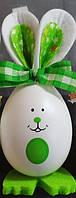 """Декор з пластика """" Яйця - кролики """" ВД-10 зелений"""