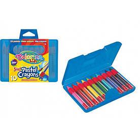 Набор 3в1 карандаши в пластиковом контейнере Colorino 65559PTR