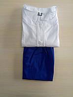 Женский медицинский костюм Лиза коттон три четверти рукав