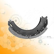 Колодка тормозная задняя КрАЗ 6505-3502091-А