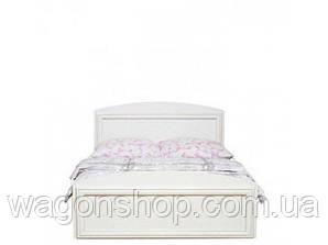 Біла ліжко LOZ120 Салерно