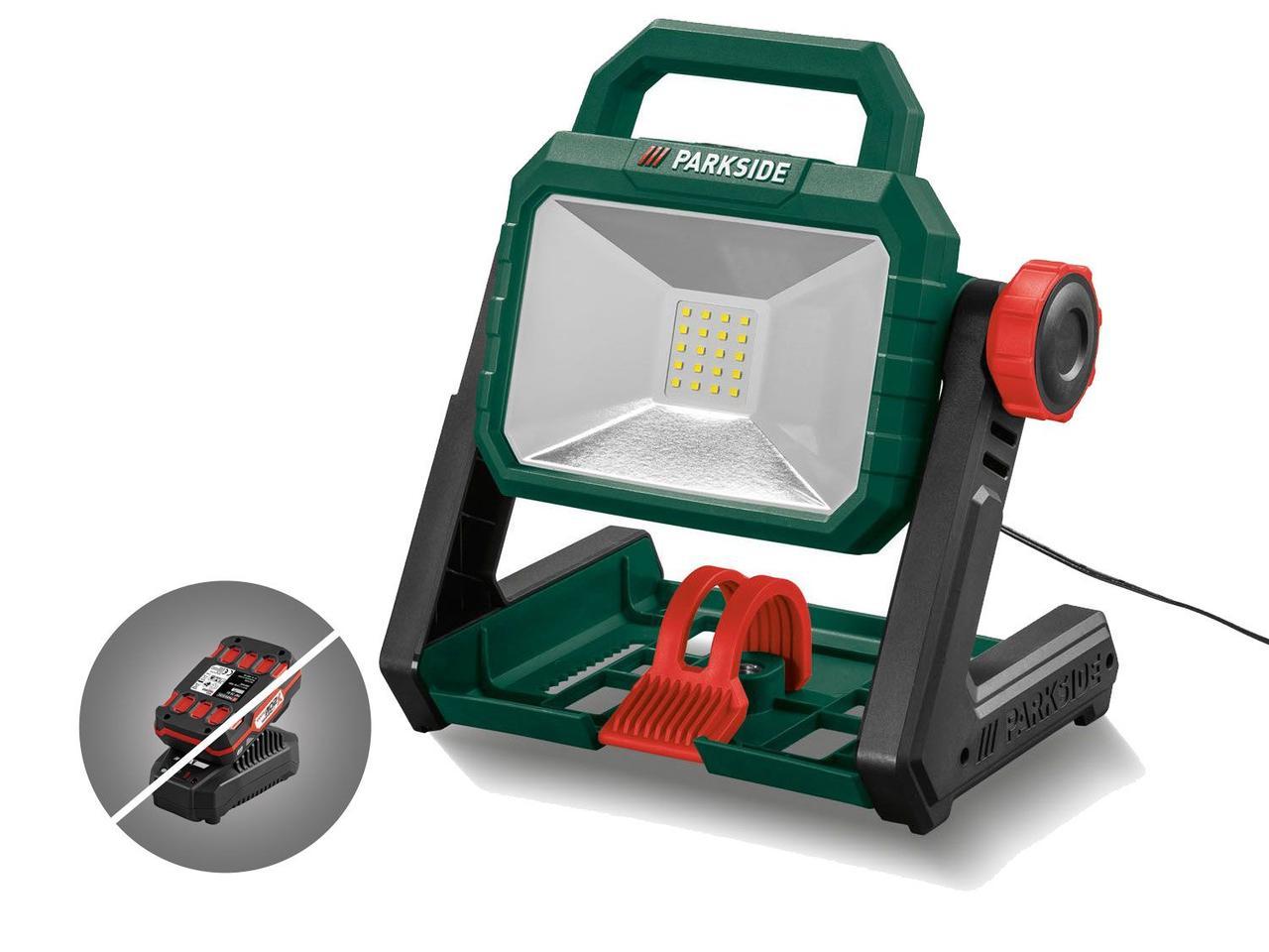 Аккумуляторный светодиодный прожектор PARKSIDE PALS 20-Li A1 (Без АКБ и ЗУ)