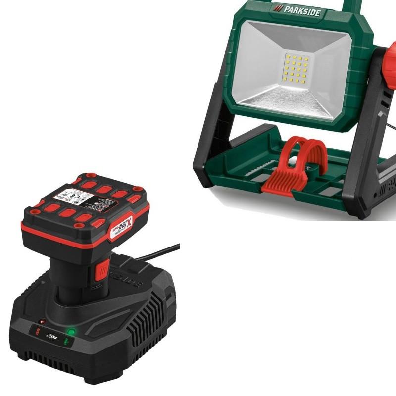 Акумуляторний світлодіодний прожектор PARKSIDE PALS 20-Li A1 (АКБ 12 В 4 А/ч)