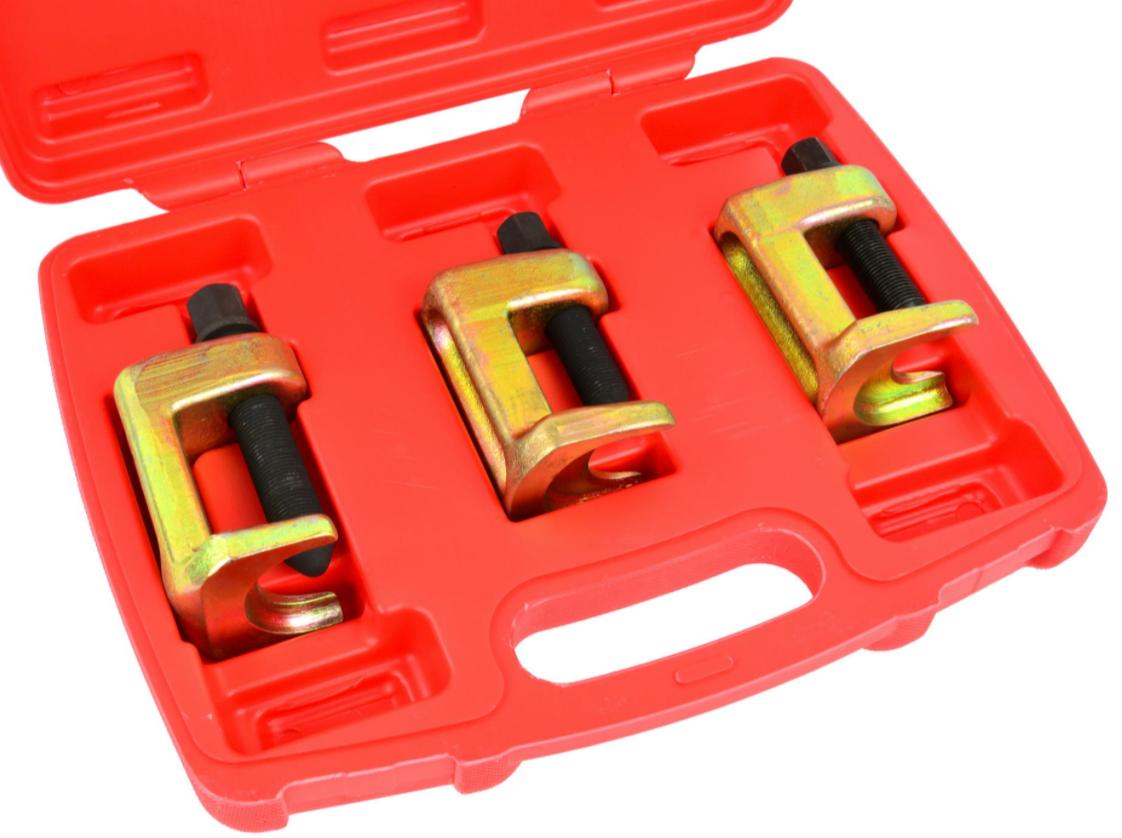 Знімач кульових опор 3 одиниці 23 мм, 28 мм, 34 мм (валіза) GEKO G02585