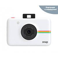 Камера моментальной печати Polaroid Snap White + Набор бумаги в Подарок!