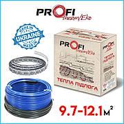 Тепла підлога 9.7-12.1м² (1610Вт)  ProfiTherm Eko-2  (97 м/п) електрична