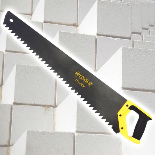 Ножівка по пінобетону, 700 мм, Prof. Переможе на кожному зубі Htools 10K763